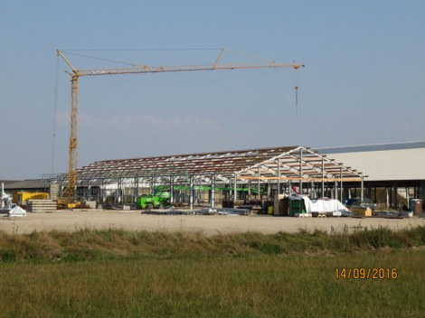 Bauprojekt in Wallstawe